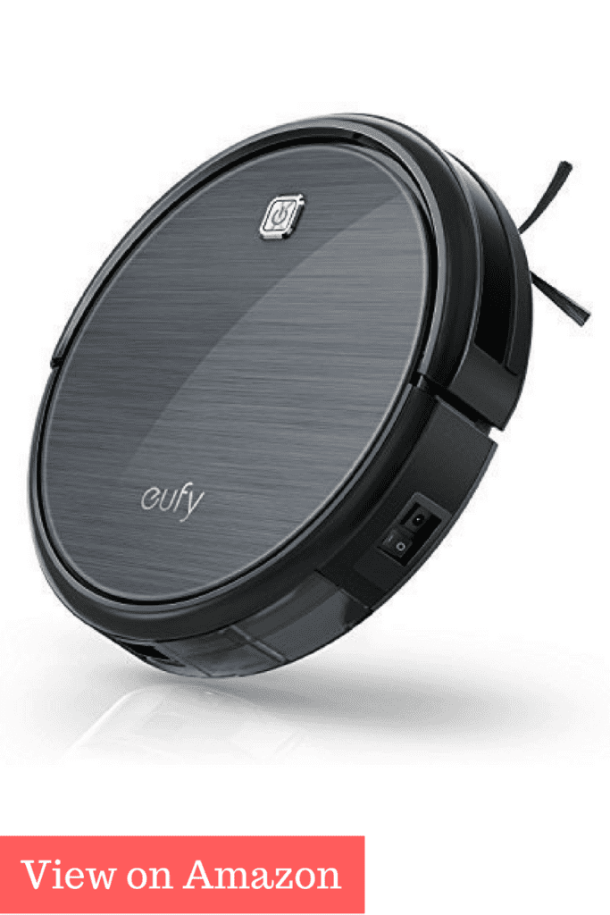 Eufy RoboVac 11, High Suction, Self-Charging Robotic Vacuum Cleaner for Pet Fur and Allergens, Hard Floor and Thin Carpet