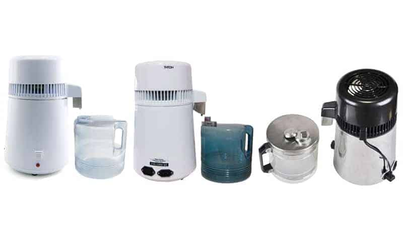White Megahome Countertop Water Distiller Review