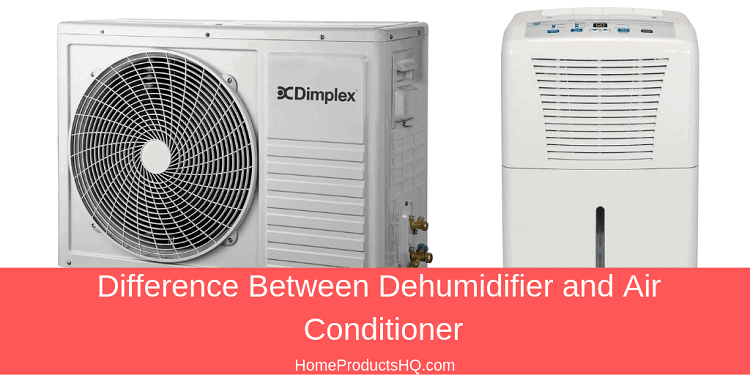 Difference Between Dehumidifier and Air Conditioner