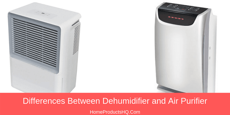 differences between dehumidifier and air purifier