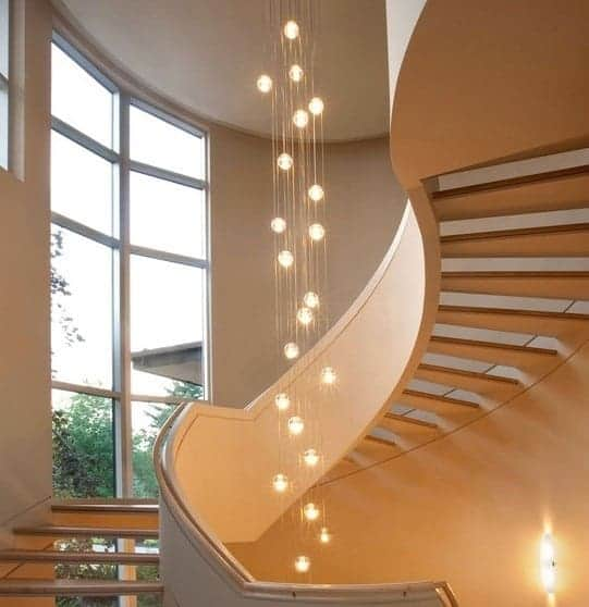 Centerpiece Staircase Lights