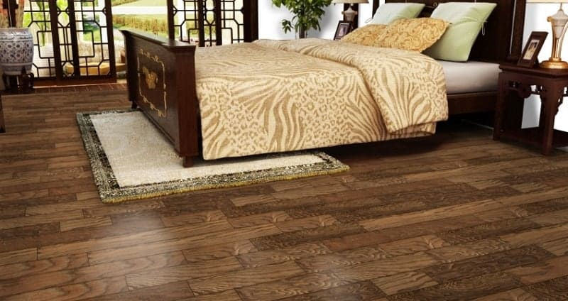 Engineered Wood Flooring for bedroom
