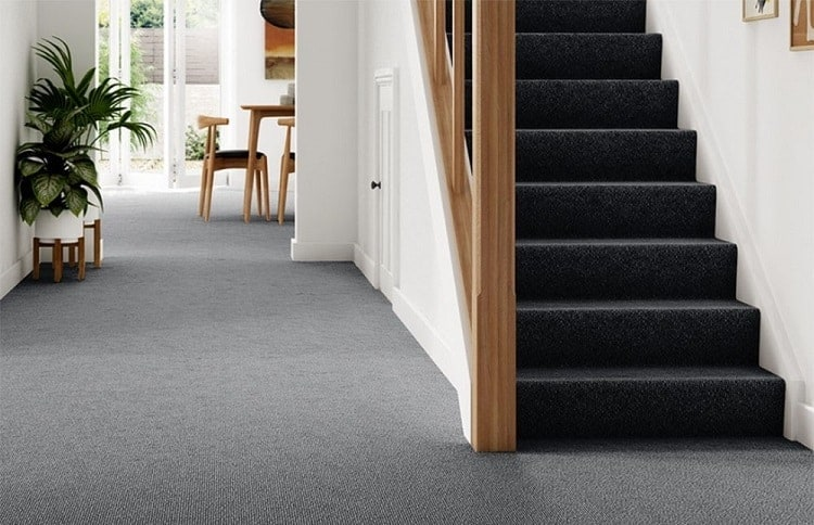 Full carpet flooring for stairs