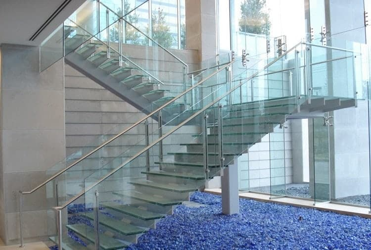 Glass Flooring for Stairs