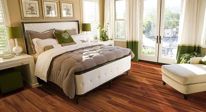 Luxury Tile Vinyl for bedroom