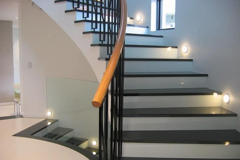Nautical Staircase Lighting Ideas