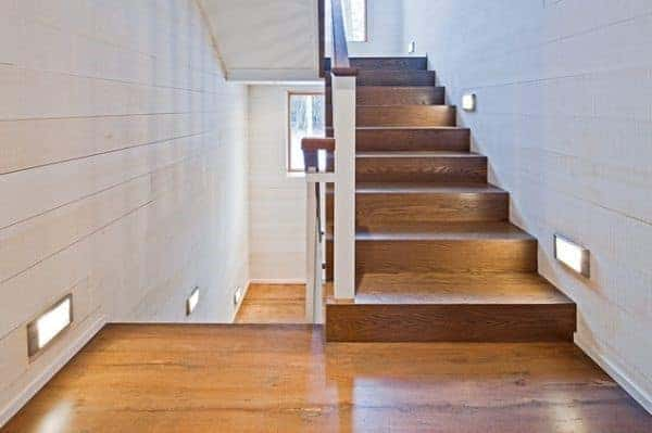 Rectangular Light Adjacent Staircase