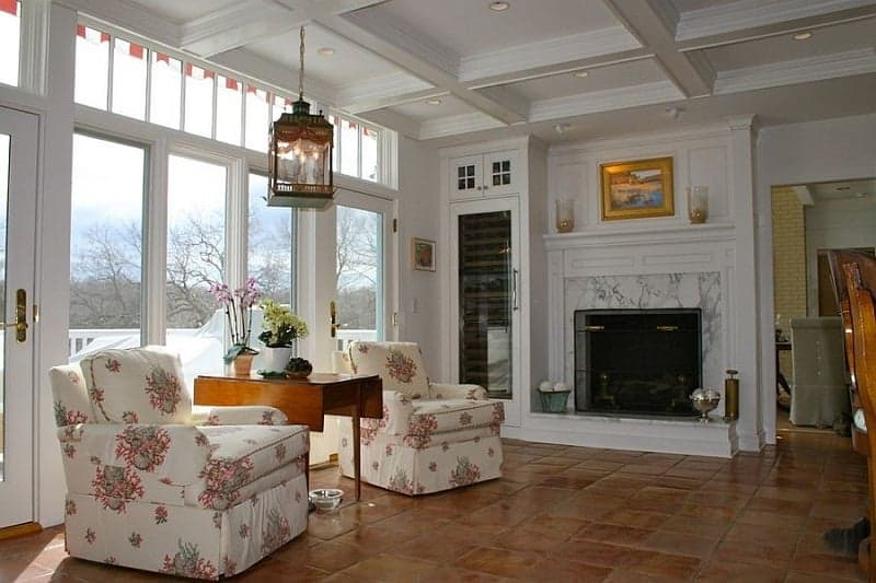 Terracotta Tile for living room