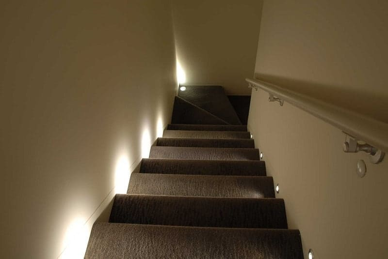 Wall Recessed Staircase Light