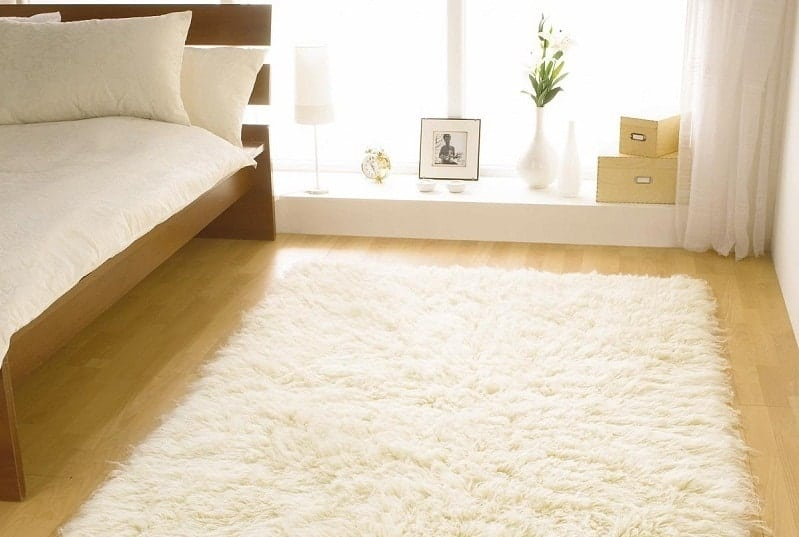 Wool Carpet Flooring for Bedroom