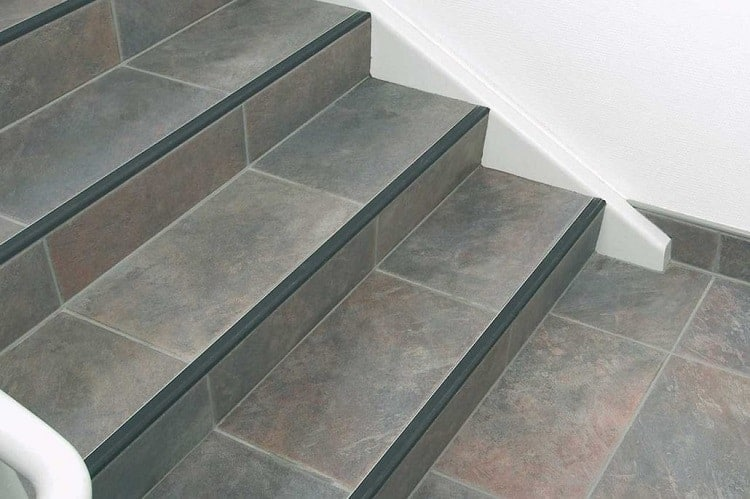 tile flooring for stairs