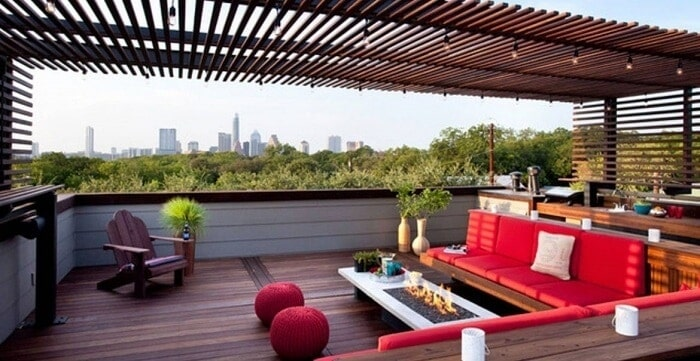 Creative Rooftop Party Space