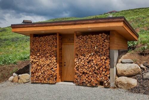 Firewood Storage Sheds