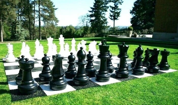 Over-Sized Chess Board Game