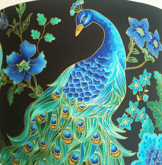 Peacock Lampshade