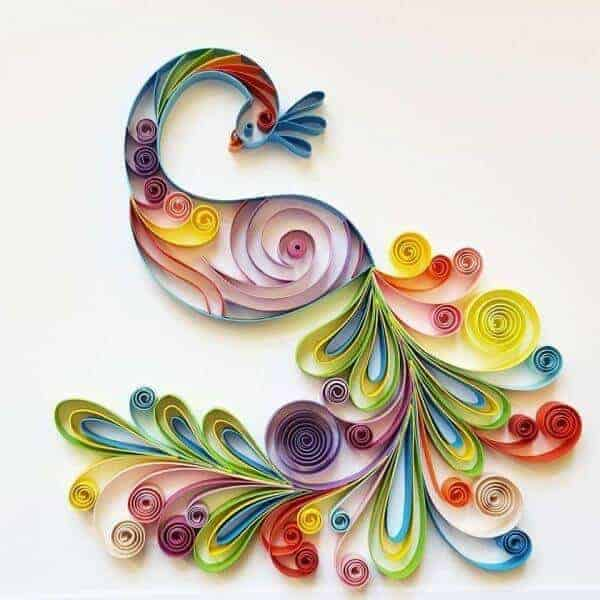 Quilled Paper Wall Art
