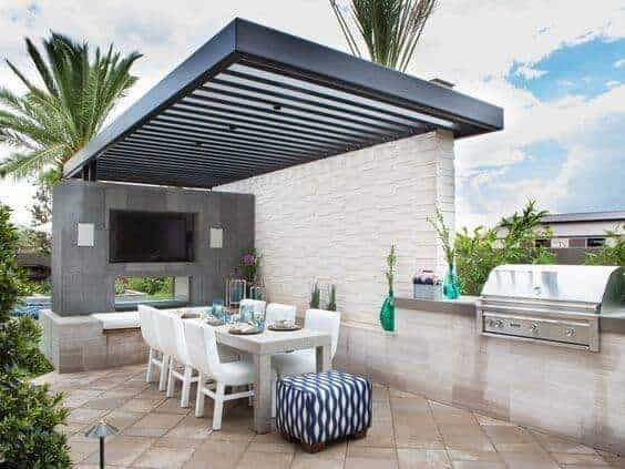 Rooftop Refreshment Space