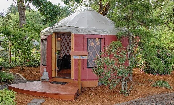 Set Up a Yurt